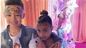 Kim Kardashian Says North West Isn't Dating 7-Year-Old Rapper