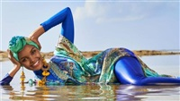 Halima Aden Becomes First Model to Wear Burkini in Sports Illustrated Swimsuit Edition