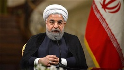 Iran's President Rouhani says scaling back nuclear commitments is a 'minimum' measure