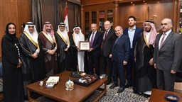 Berri meets Saudi Shura Council delegation at Ain el-Tineh