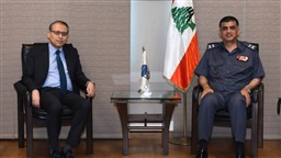 Othman, Egyptian ambassador discuss overall situation
