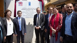 Rampling visits Tripoli: A message of solidarity after the attack, ongoing UK support