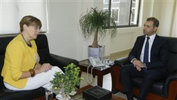 Afiouni, Ambassador of Estonia discuss cooperation in technology field
