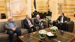 Palestinian delegation visits Hariri: There will be no crisis between Lebanon and us