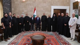 President Aoun: Qabrshmoun incident can only be eclipsed by fair trial that paves way for reconciliation
