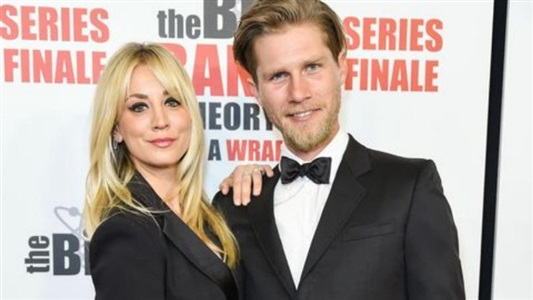 The Big Bang Theory's Kaley Cuoco Says She Doesn't Live With Husband Karl Cook