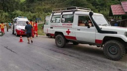 At least 13 Chinese tourists killed in bus accident in Laos