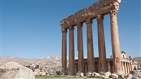 CDR: Baalbek's Jupiter temple colonnade works have come to conclusion