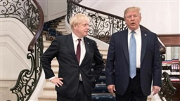 UK's Johnson and U.S.'s Trump discuss need for united diplomatic response to Saudi attack