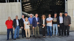 German delegation visits West Bekaa and Rashaya to build partnership in electricity, environment and alternative energy