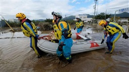 58 dead, rescuers in 'day and night' hunt for missing after Japan typhoon