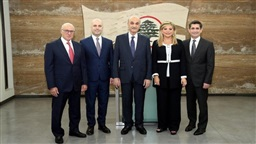Samir Geagea Announces Resignation of Four LF Ministers