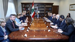 President meets Guerini: Addressing causes of protests is upcoming government's main concern