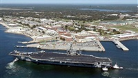 One killed, shooter dead at US navy base attack