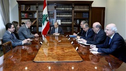 Aoun informs Kubis Lebanon will attend ISG meeting through official delegation