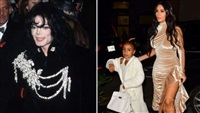 Kim Kardashian Buys Daughter North a Jacket Owned by Michael Jackson