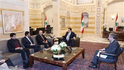 Diab discusses monetary situation with World Bank delegation