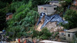 Death toll from Brazil's flooding in mining state at 50: rescue workers