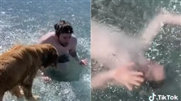 TikTok Influencer Nearly Drowns After Getting Trapped Under Ice While Filming Video