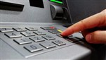 Watch: Security forces enforce safe distance in front of ATMs