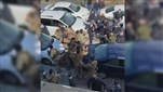 Watch: Clash at Beirut airport
