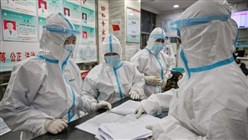 China says 1,716 health workers infected by coronavirus, six dead