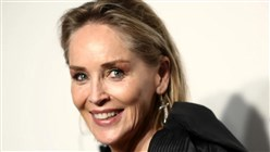 Sharon Stone Says She Was Hit by Lightning While Doing the Ironing