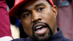 Kanye West Breaks Ranks With Trump, Vows to Win U.S. Presidential Race