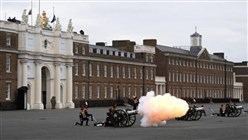Prince Philip's death marked by gun salutes across UK