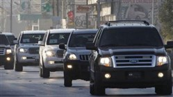 Former minister's convoy attacked
