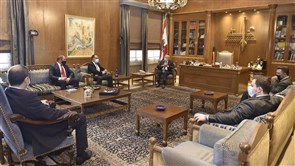 Berri meets IDAL delegation, President of Lebanese Cultural University in the World