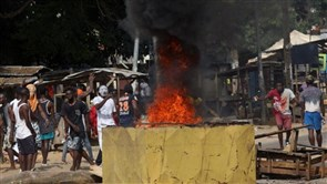 Ivory Coast police clash with protesters over coronavirus test centre