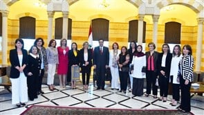 Diab meets NCLW delegation
