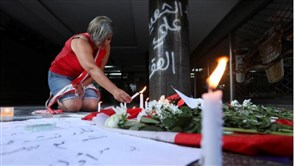 Dozens mourn man who killed himself in busy Beirut district