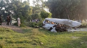 19 Sikh pilgrims killed in Pakistan when train collides with van