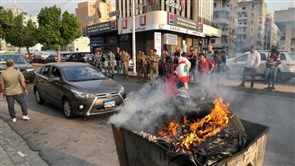 Protesters block EDL's Sidon branch road against ailing living conditions