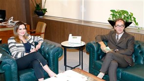 Information Minister receives French ambassador: We confirm our adherence to Lebanese-French relations