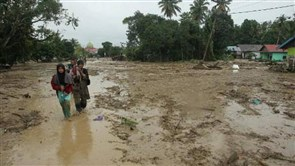 Flash floods kill at least 30 in Indonesia