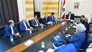 Diab chairs EDL Board meeting at Grand Serail