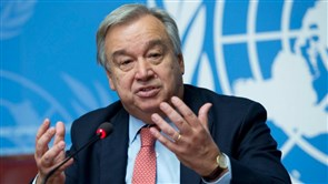 UN Secretary-General Delivers Speech During Briefing on Humanitarian Situation in Lebanon