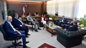 Minister of Information welcomes Federation of Syndicates of Bank Employees
