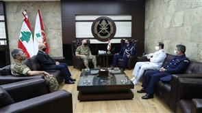 Army chief meets outgoing Brazilian Military Attaché