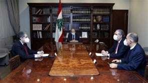President Aoun chairs meeting to accelerate agreement with Alvarez & Marsal