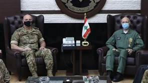 Army Commander meets Italian Chief of Defense, US Naval Forces Commander