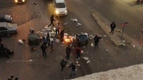 Protesters block Sidon's Qayaa road against deteriorating economic conditions