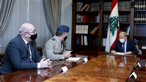 President Aoun meets British Defense Ministry Senior Advisor