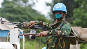 Islamist militia kills female peacekeeper in east Congo - U.N.