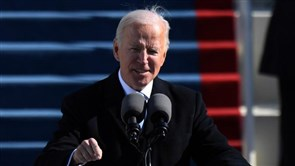 "Biden Sworn In As 46th President, Declaring ""Democracy Has Prevailed"""