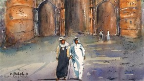 Dalal: 22 paintings about Saudi Arabia in appreciation of its role in Lebanon