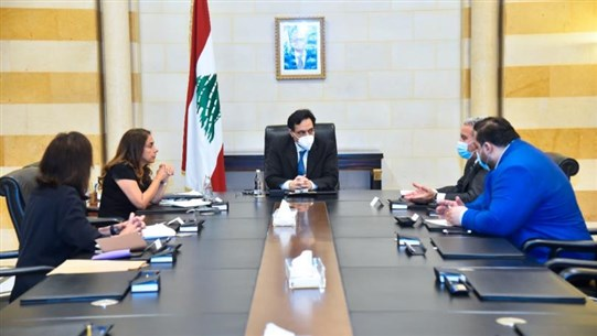 Diab chairs meeting on emergency project to support social safety net